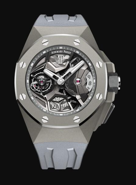 Audemars Piguet ROYAL OAK CONCEPT FLYING TOURBILLON GMT 26589TI.GG.D006CA.01 Replica Watch