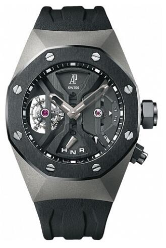 Audemars Piguet Replica Watch Concept GMT Tourbillon 26560IO.OO.D002CA.01
