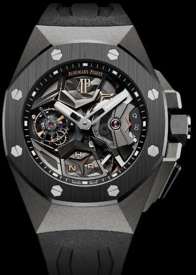 Audemars Piguet Replica Watch Concept FLYING TOURBILLON GMT 26589IO.OO.D002CA.01