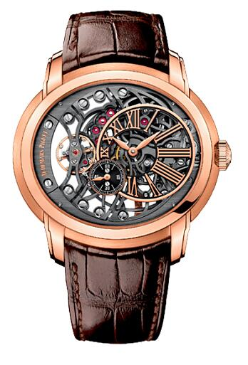 Audemars Piguet Millenary Openworked 15352OR.OO.D093CR.01 Replica Watch