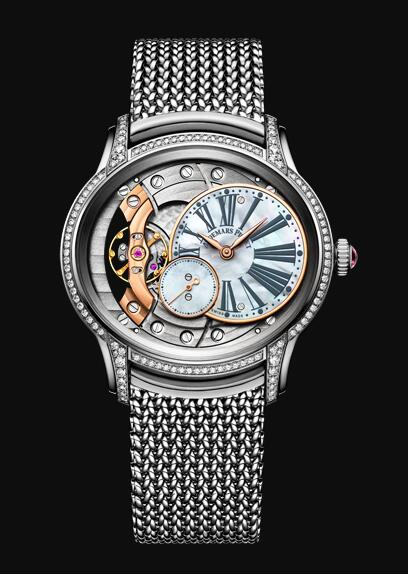 Audemars Piguet MILLENARY HAND-WOUND 77247BC.ZZ.1272BC.01 Replica Watch