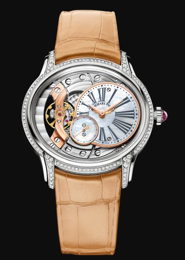 Audemars Piguet MILLENARY HAND-WOUND 77247BC.ZZ.A813CR.01 Replica Watch