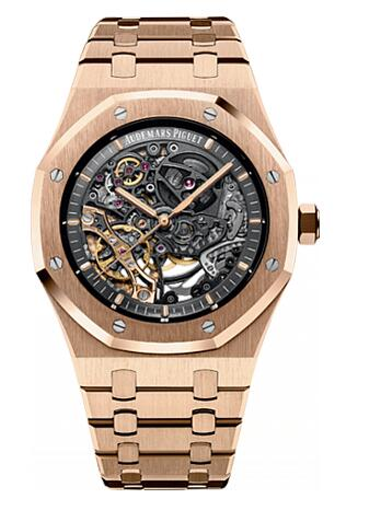 Audemars Piguet Replica Watch Royal Oak Double Balance Wheel Openworked 15407OR.OO.1220OR.01