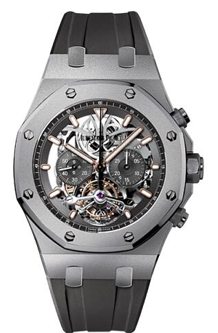 Audemars Piguet Replica Watch Royal Oak Tourbillon Chronograph 26347TI.GG.D004CA.01