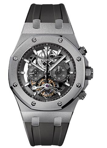 Audemars Piguet Replica Watch Royal Oak Tourbillon Chronograph 26347TI.GG.D004CA.02
