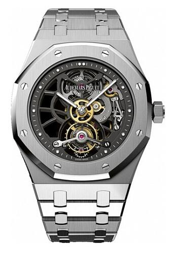 Audemars Piguet Replica Watch Royal Oak Openworked Extra-Thin Tourbillon 26511PT.OO.1220PT.01