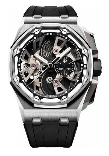 Audemars Piguet Replica Watch Royal Oak Offshore TOURBILLON CHRONOGRAPH 26421ST.OO.A002CA.01