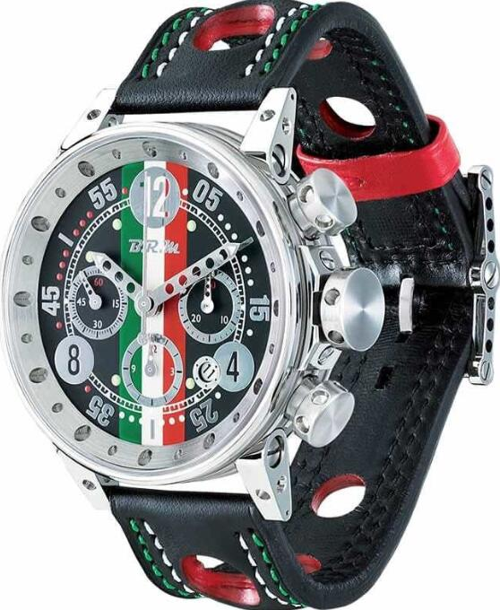 BRM Gulf V12-44 Italian Flag V12-44-CIT-AG Replica Watch
