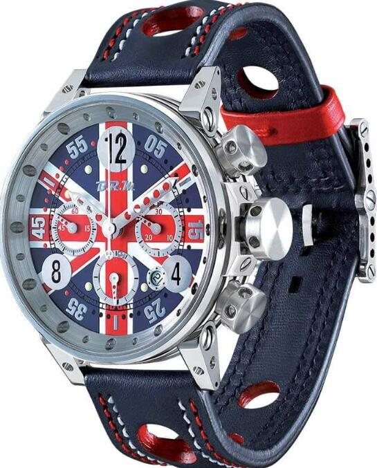 BRM V12-44 Union Jack V12-44-CDUK Replica Watch