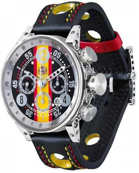 BRM V12-44 SPAIN FLAG V12-44-CDES Replica Watch