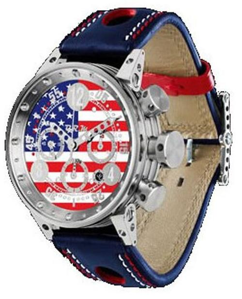 BRM V12-44 USA FLAG V12-44-USA Replica Watch