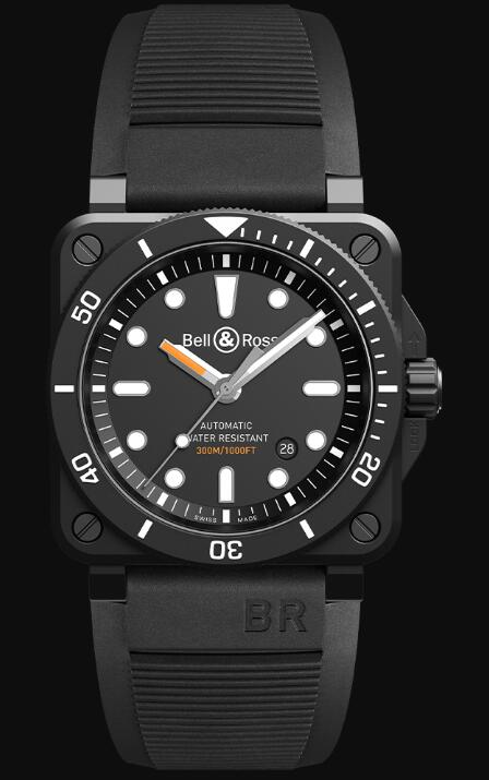 Bell & Ross BR 03-92 DIVER BLACK MATTE BR0392-D-BL-CE/SRB Replica Watch
