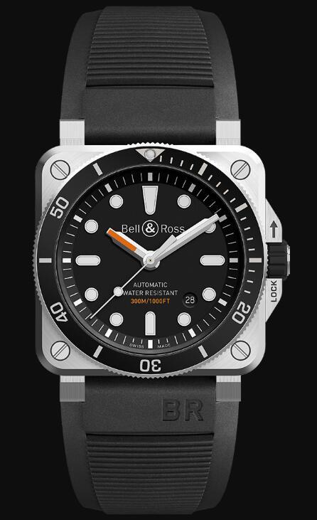 Bell & Ross BR 03-92 DIVER BR0392-D-BL-ST/SRB Replica Watch