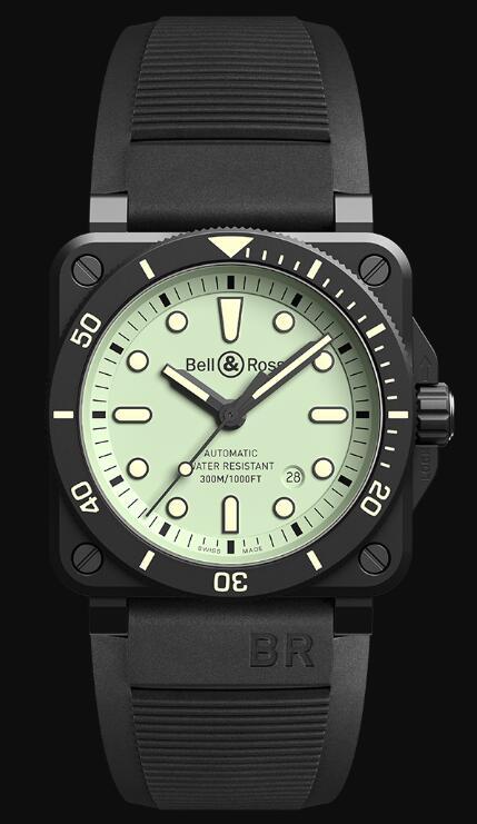 Bell & Ross BR 03-92 DIVER FULL LUM BR0392-D-C5-CE/SRB Replica Watch