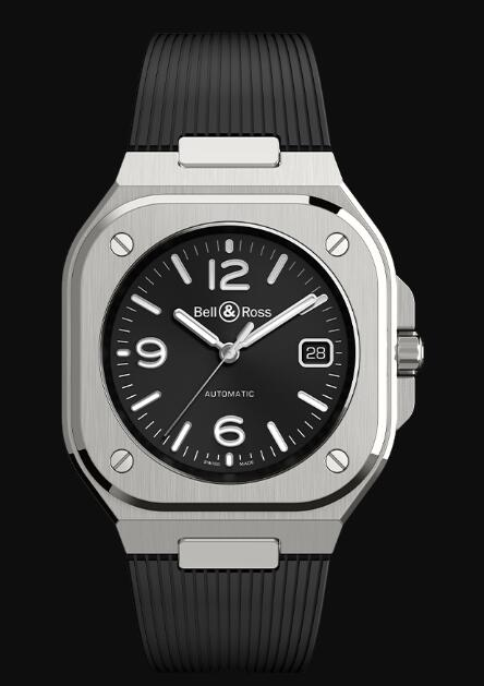 Bell & Ross BR 05 BLACK STEEL BR05A-BL-ST/SRB Replica Watch