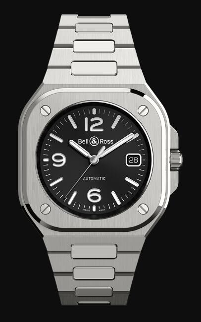 Bell & Ross BR 05 BLACK STEEL BR05A-BL-ST/SST Replica Watch