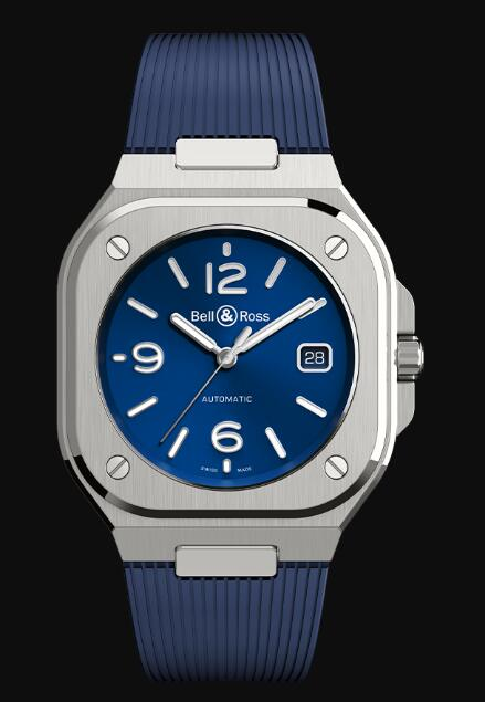 Bell & Ross BR 05 BLUE STEEL BR05A-BLU-ST/SRB Replica Watch