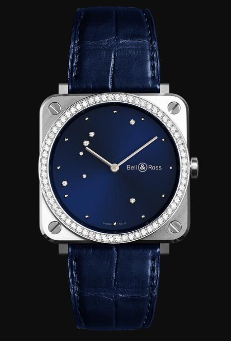 Bell & Ross BR S BLUE DIAMOND EAGLE DIAMONDS BRS-EA-ST-LGD/SCR Replica Watch
