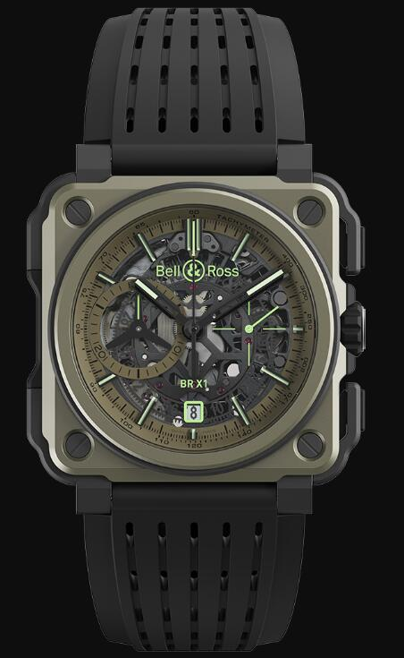 Bell & Ross BR-X1 MILITARY BRX1-CE-TI-MIL Replica Watch