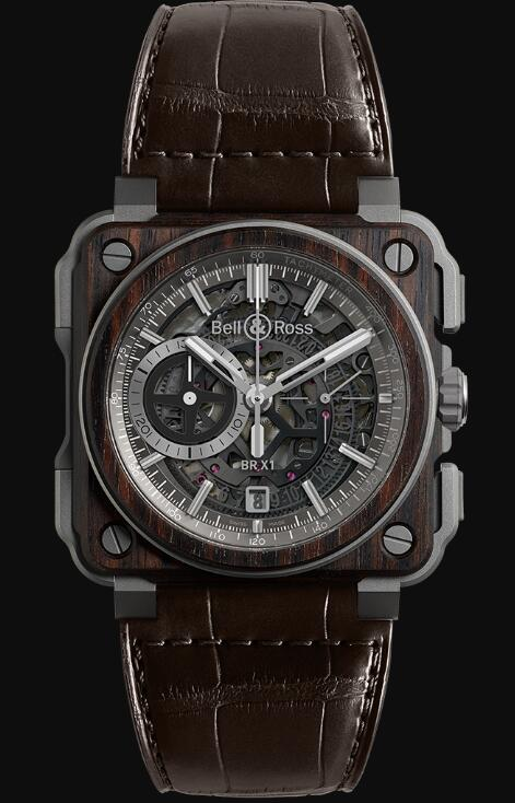 Bell & Ross BR-X1 WOOD BRX1-WD-TI Replica Watch