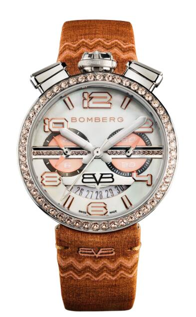 Bomberg 1968 ORANGE RS40CHSS.25B.3 Replica Watch