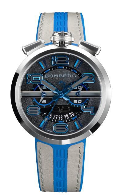 Bomberg 1968 BLACK & BLUE RS45CHSS.144.3 Replica Watch