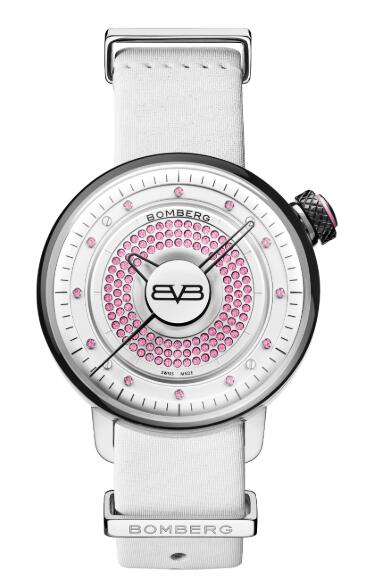 Bomberg BB-01 LADY SKYLIGHTER PINK & WHITE CT38H3SS.12-1.9 Replica Watch
