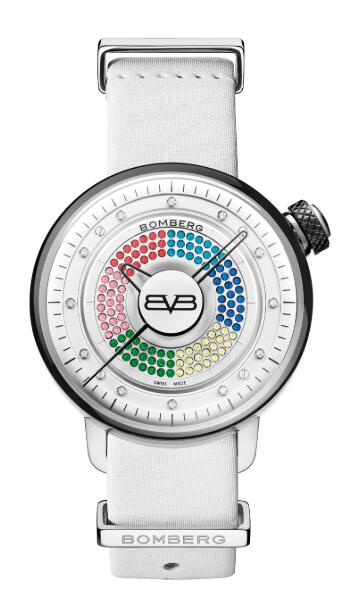 Bomberg BB-01 LADY SKYLIGHTER WHITE CT38H3SS.13-1.9 Replica Watch