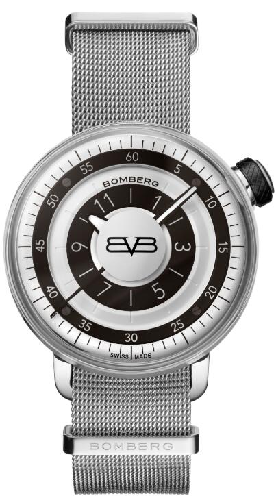 Bomberg BB-01 GENT BLACK & SILVER CT43H3SS.03-2.9 Replica Watch