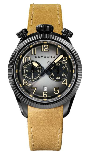 Bomberg BB-68 BLACK & BEIGE NS44CHPBA.200.9 Replica Watch