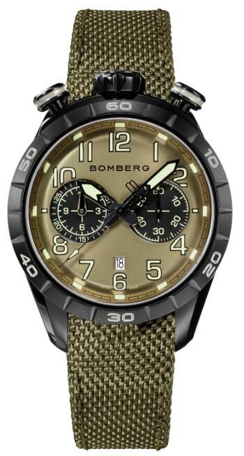 Bomberg BB-68 MILITARY GREEN NS44CHPBA.207.9 Replica Watch