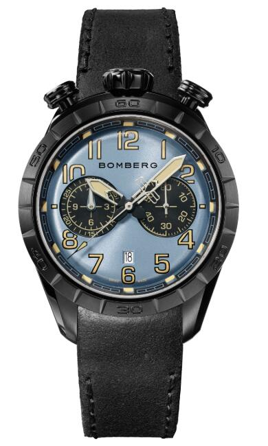 Bomberg BB-68 BLUE & BLACK NS44CHPBA.208.9 Replica Watch