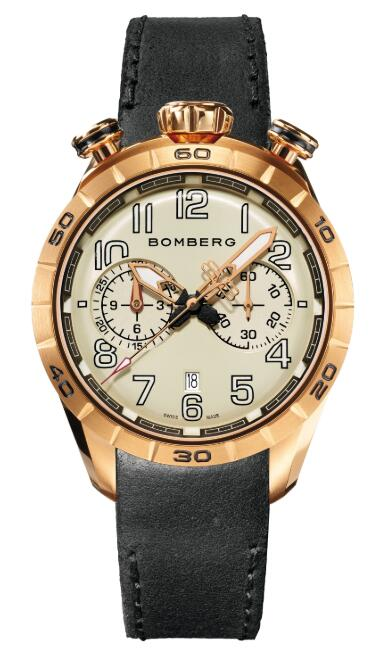 Bomberg BB-68 GOLD & BLACK NS44CHPPK.209.9 Replica Watch