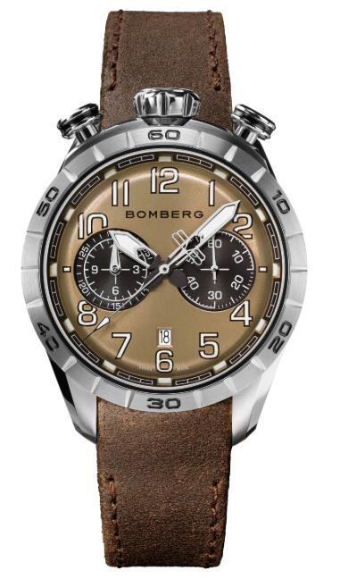 Bomberg BB-68 BROWN NS44CHSS.206.9 Replica Watch