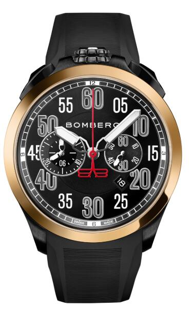 Bomberg ONLINE EXCLUSIVE GOLD ARROW NS44CHPKPBA.0100.3 Replica Watch