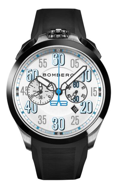 Bomberg ONLINE EXCLUSIVE SILVER ARROW NS44CHSP.0099.3 Replica Watch