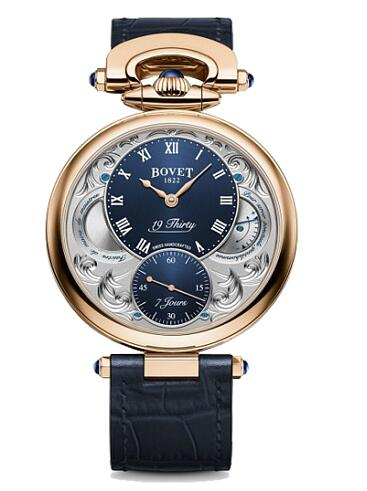 Bovet 19Thirty Fleurier Red gold 42mm NTR0023 Replica watch