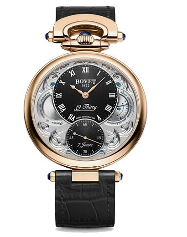 Bovet 19Thirty Fleurier Red gold 42mm NTR0024 Replica watch