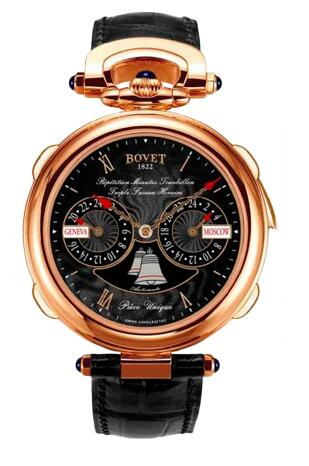 Bovet Amadeo Fleurier Grand Complications Minute Repeater Tourbillon Triple Time Zone AR3F001 Replica watch