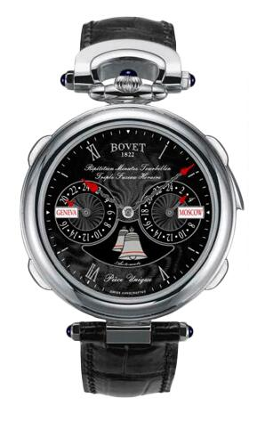 Bovet Amadeo Fleurier Grand Complications Minute Repeater Tourbillon Triple Time Zone AR3F002 Replica watch