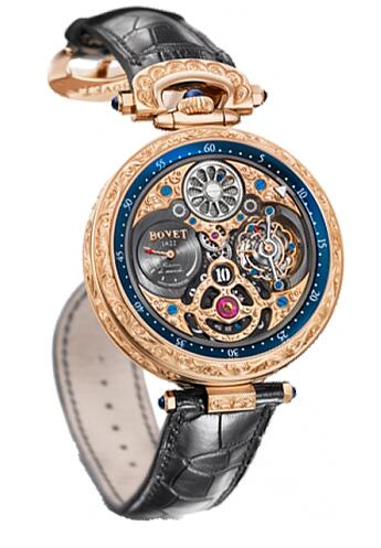 Bovet Amadeo Fleurier Grand Complications 47 5-Day Tourbillon Jumping Hours AIHS003-G123467 Replica watch