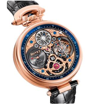 Bovet Amadeo Fleurier Grand Complications 47 5-Day Tourbillon Jumping Hours AIHS003 Replica watch