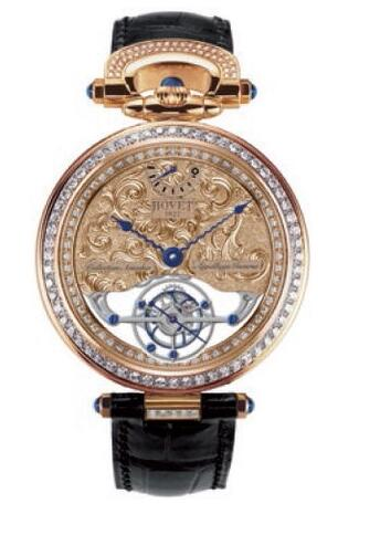 Bovet Amadeo Fleurier Grand Complications Fleurier 7-Day Tourbillon Reversed Hand-Fitting AIF0T005-SD1235 Replica watch