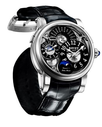 Bovet Dimier Recital 7 Orbis Mundi Moon Phase DTR7-WG-000-BA-01 Replica watch
