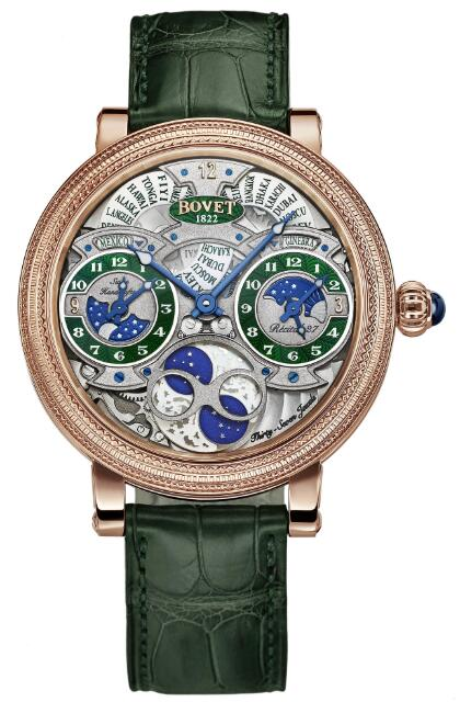 Bovet Recital 27 Mexico R270005-G1-01 Replica watch