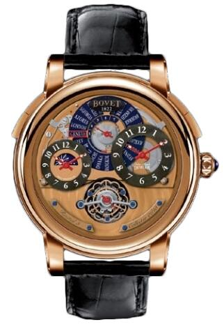 Bovet Dimier Recital 3 Collector Orbis Mundi R3 RG Replica watch