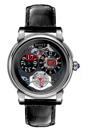 Bovet Dimier Recital 5 Tourbillon Big Date R5 TBD WG Replica watch