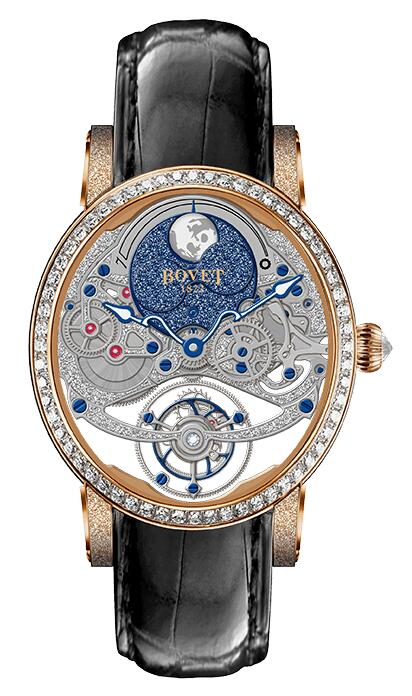 Best Bovet Dimier R90001-SD1C234 Replica watch