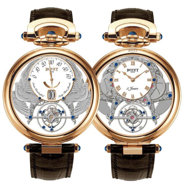 Bovet Amadeo Fleurier Grand Complications Virtuoso IV Tourbillon AIVS005 Replica watch