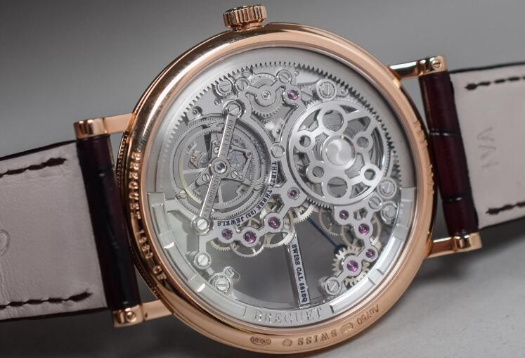 Breguet Classique Complications Classique Tourbillon 5395BR/1S/9WU Replica Watch